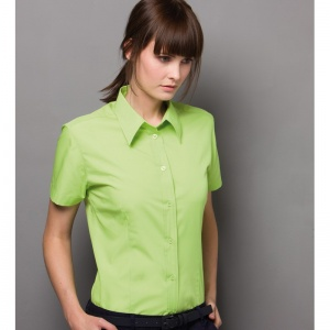 Kustom Kit Workforce blouse short sleeved