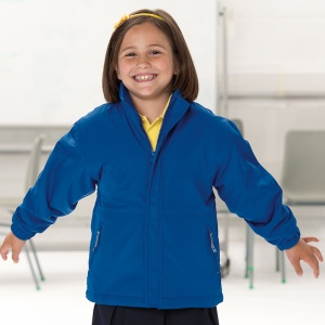 Schools Jerzees Schoolgear Kids reversible school jacket