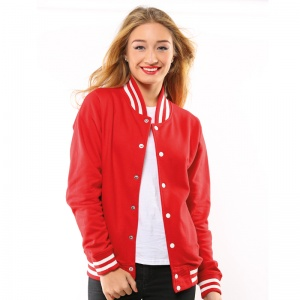 AWDis College jacket with Embroidery, Print, Transfer.