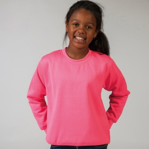 AWDis Kids electric sweatshirt with Embroidery, Print, Transfer.