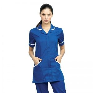 Premier Vitality healthcare tunic with Embroidery, Print, Transfer.
