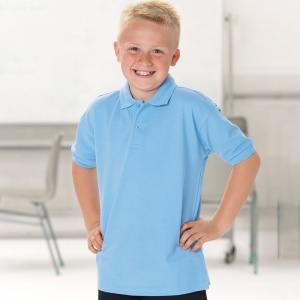 Schools Jerzees Kids hardwearing polo shirt