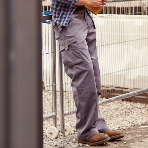 Russell Heavy-duty workwear trousers, Embroidery, Print, Transfers