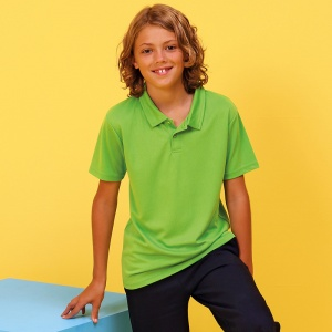 AWDis Just Cool Kids cool polo, Embroidery, Print, Transfer