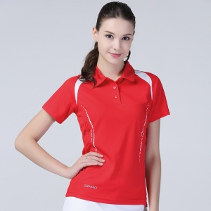 Spiro Women's Spiro Team Spirit Polo, Embroidery, Print, Transfer