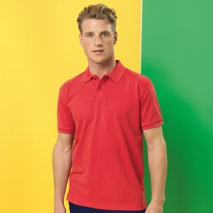 Asquith & Fox Men's polo, Embroidery, Print, Transfers