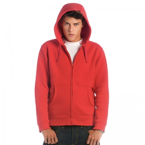B & C Collection Hooded Full Zip/Mens