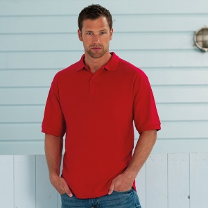 Russell 65/35 poly/cotton polo