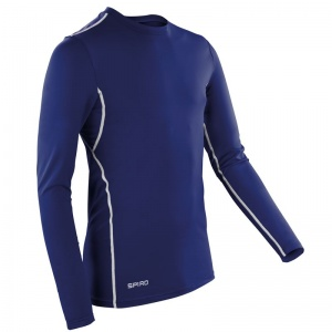 Spiro Compression Bodyfit Base Layer - Long Sleeve Top including Embroidery, Print, Transfer