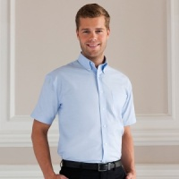Russell Short sleeve Oxford shirt