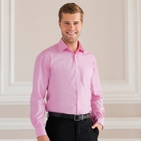 Russell Long sleeve 100% cotton poplin shirt