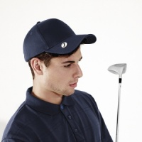 Beechfield Pro-style ball mark golf cap Embroidery, Print, Transfer