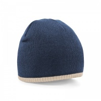 Beechfield Two-tone pull on beanie Embroidery