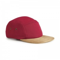 Beechfield Suede peak 5 panel cap Embroidery, Print, Transfer