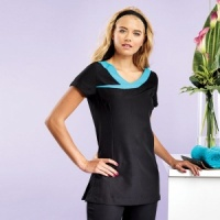Premier Ivy beauty and spa tunic with Embroidery, Print, Transfer.