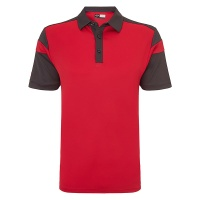 Callaway Chev blocked polo, Embroidery, Print, Transfer