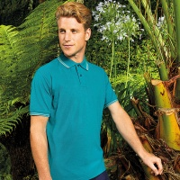 Asquith & Fox Men's classic fit tipped polo, Embroidery, Print, Transfers