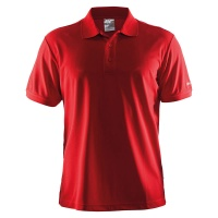 Craft Polo shirt piqué classic, Embroidery, Print, Transfer