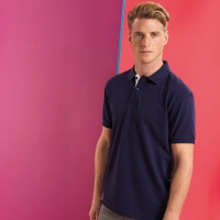 Asquith & Fox Men's classic fit contrast polo, Embroidery, Print, Transfers