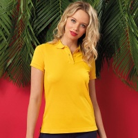 Asquith & Fox Women's polo, Embroidery, Print, Transfers
