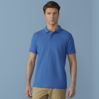 Gildan Softstyle adult double piqué polo, Embroidery, Print, Transfer