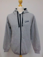 Unite Adult Zipped Grey Hoodie