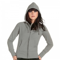 B & C Collection Hooded Full Zip/Women