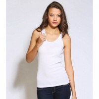 Bella Canvas Baby rib tank Top, Embroidery, Print, Transfers