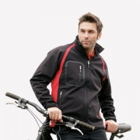 Finden & Hales Team Softshell Jacket, Embroidery, Print, Transfers