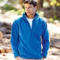 Fruit of the Loom Half zip fleece