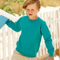 Fruit of the Loom Kid's raglan sweatshirt