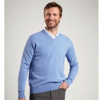 Glenmuir 1891 Lomond v-neck sweater, Embroidery