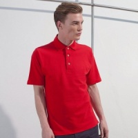 Henbury Classic polo with stand up collar