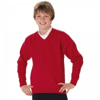 Jerzees Schoolgear Kid's v-neck sweatshirt